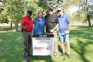 3 Mo - Luda - Gerald - Chris on Xerox Hole In One