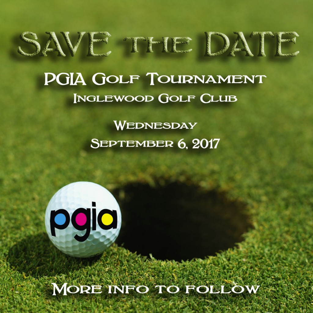 PGIA 2017 Annual Golf Tournament