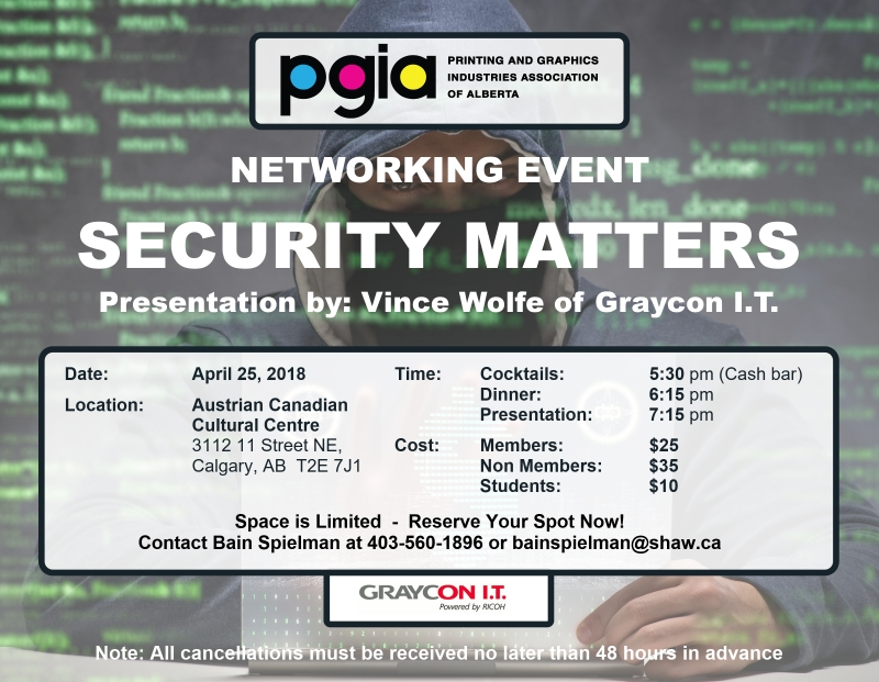 PGIA Cyber Security event