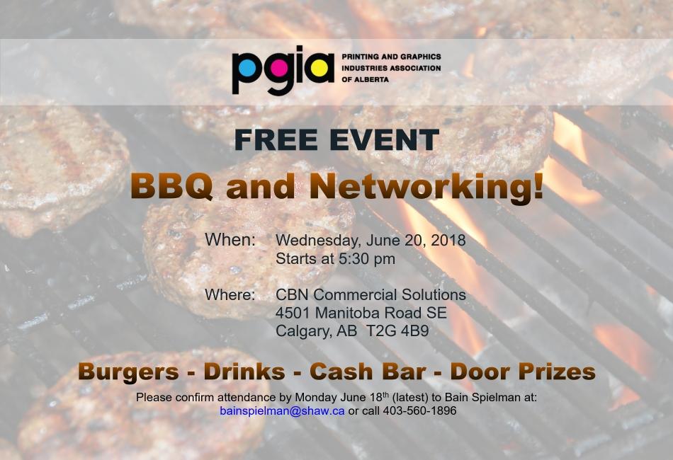 PGIA BBQ Event
