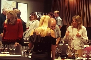 Members and Guests mingle at the PGIA AGM and Wine Tasting