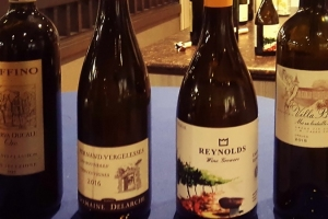Some of the vintages tasted at the PGIA 2019 AGM