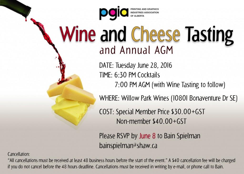 PGIA Annual General Meeting June 28, 2016
