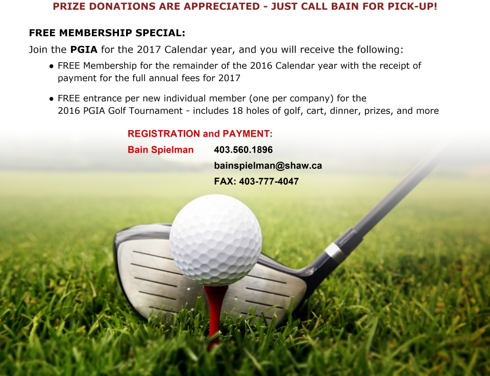 Golf Image with Text