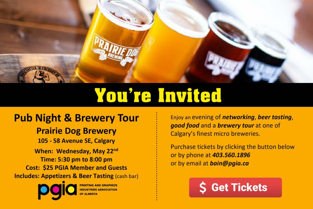 PGIA Networking Pub Night and Brewery Tour 20190522