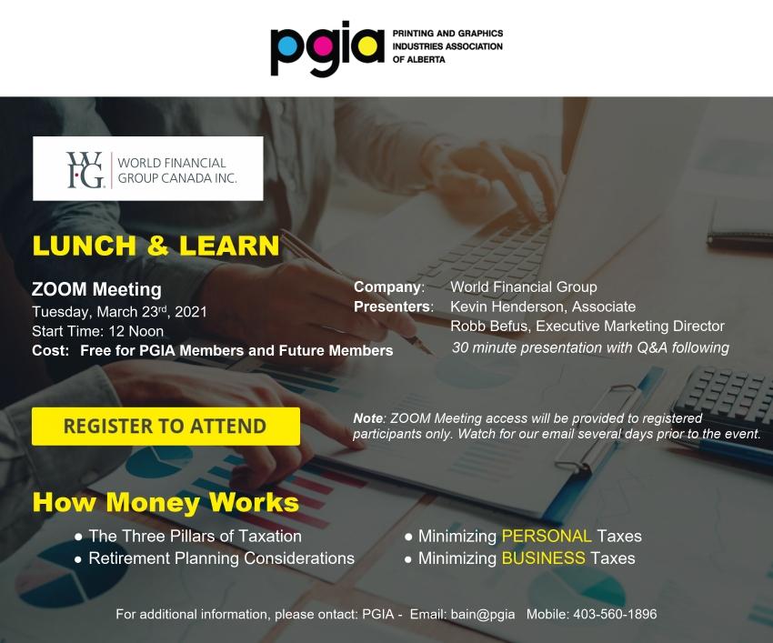 PGIA Event Invitation March 23, 2021