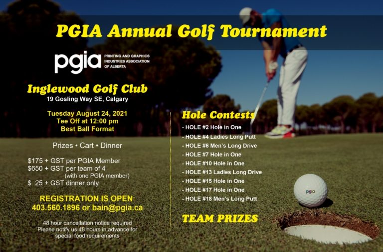 PGIA 2021 Annual Golf Tournament