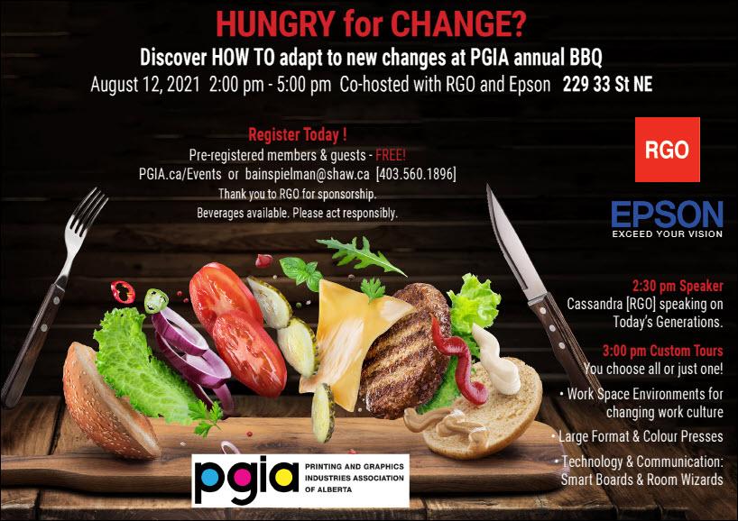 PGIA Annual BBQ Invitation